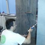 Afkitwerkzaamheden na installatie regendouche