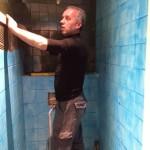 Installatie sanitair egaliseren wanden