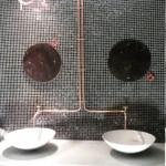 Installatie sanitair installatie spots
