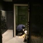 Installatie sanitair toilet aansluiting