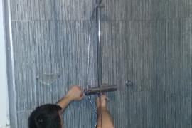 Installatie regendouche